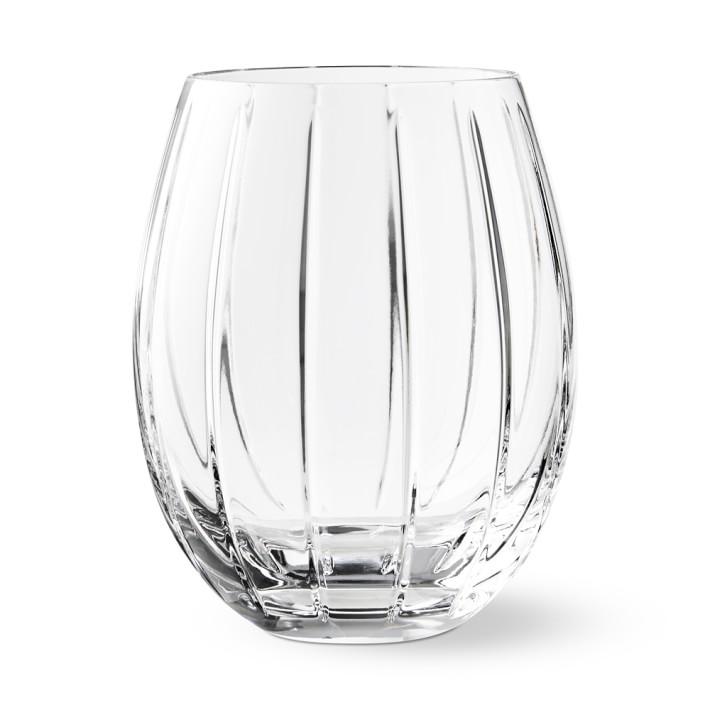 Dorset Stemless Red Wine Glasses Williams Sonoma