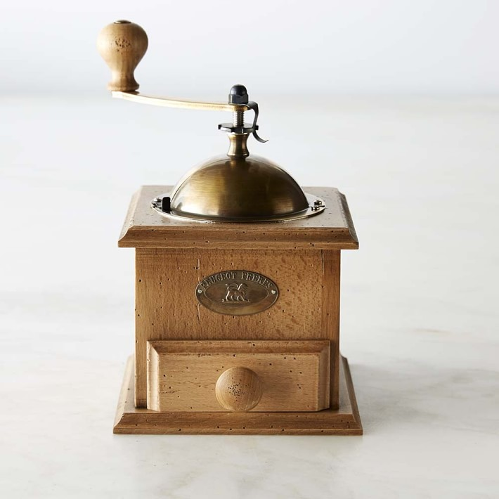 French Coffee Mill Metal and Wooden Mill Vintage Coffee Mill Peugeot Coffee Grinder Pepper Mill Peugeot