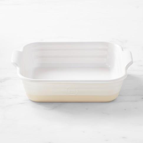 French Ceramic Potter Square Baker
