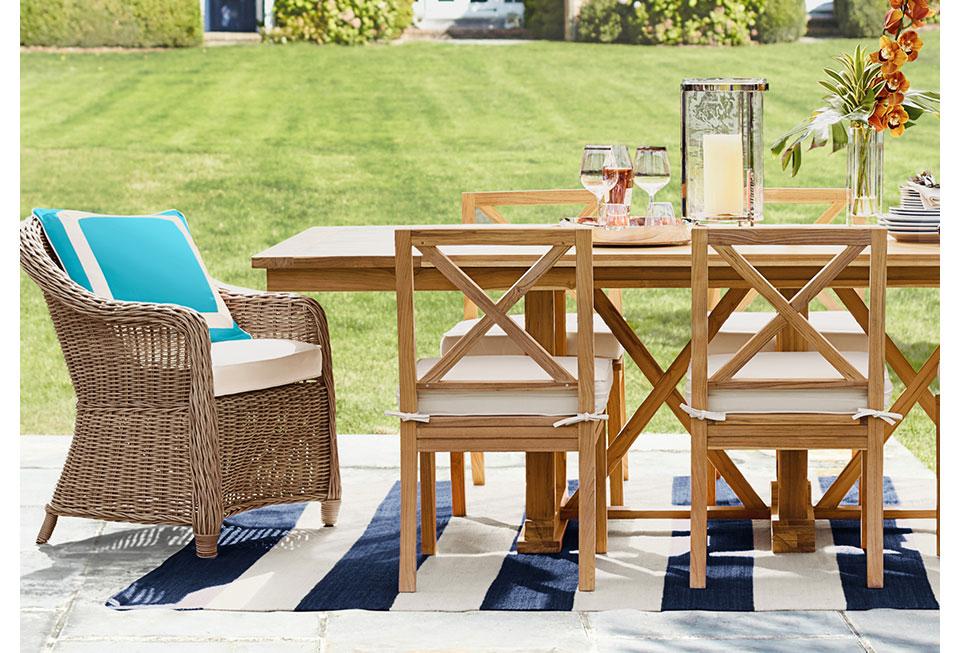 Design School: Outdoor Living Room | Williams Sonoma on Rk Outdoor Living id=43885