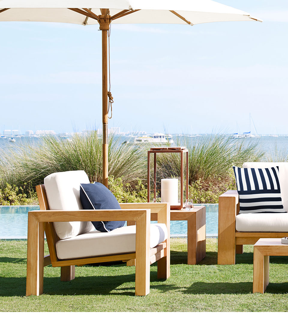 Teak Outdoor Furniture Williams Sonoma