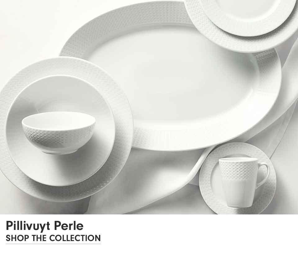 Pillivuyt Perle Porcelain Dinnerware Collection  Williams Sonoma