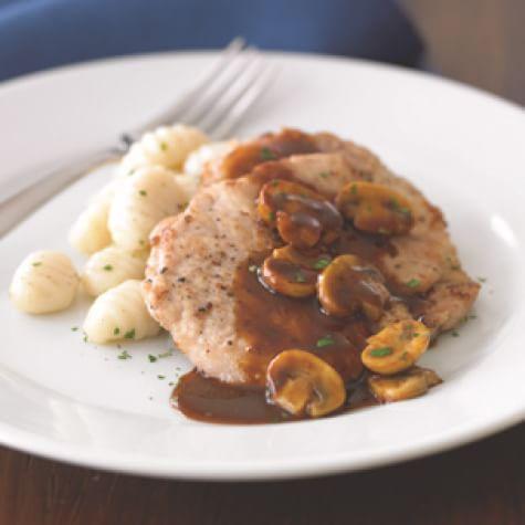 Pork Scallopini With Mushrooms And Marsala Sauce Williams Sonoma