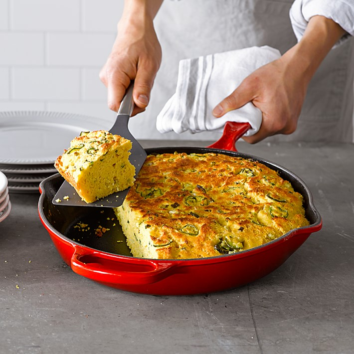 Le Creuset Signature 10 Ink Skillet Reviews Crate And Barrel