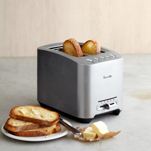 Breville BTA820XL Die-Cast 2-Slice Smart Toaster