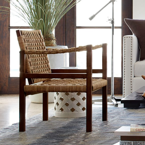 Andros Rope Chair Williams Sonoma