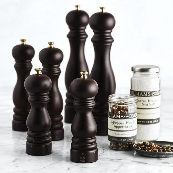 Set Paris Pepper Mill and Salt Mill U Select 12 cm Chocolate