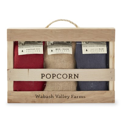 Wabash Family Farms Popcorn Gift Set Williams Sonoma