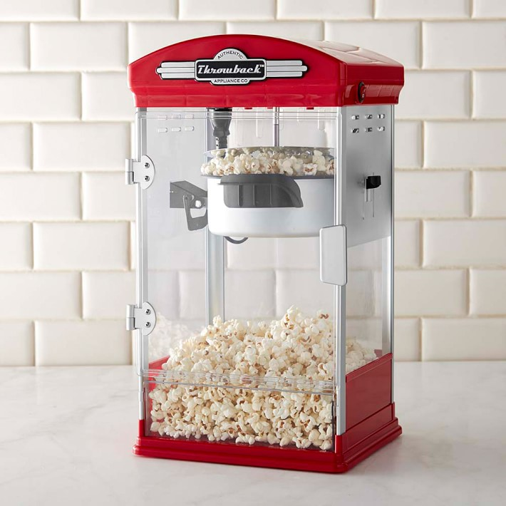Throwback Movie Theater Popcorn Maker Williams Sonoma