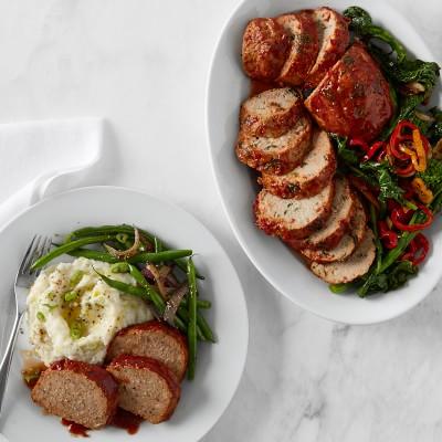 Diestel Turkey Sous Vide Meatloaf Duo Gourmet Meal Delivery Williams Sonoma