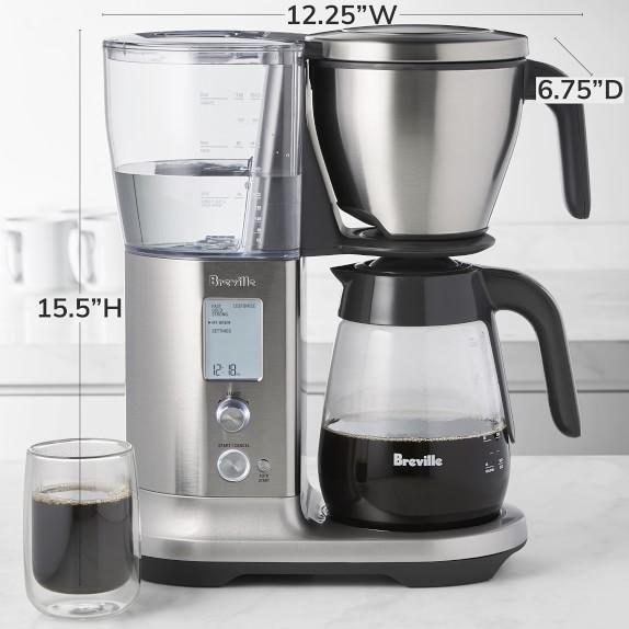 Breville Precision Brewer Drip Coffee Maker With Glass Carafe Williams Sonoma