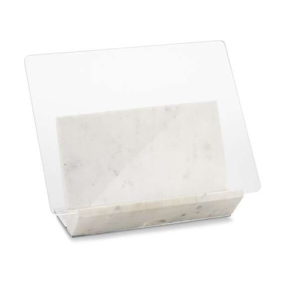 Marble Cookbook Holder Cookbook Stand Williams Sonoma