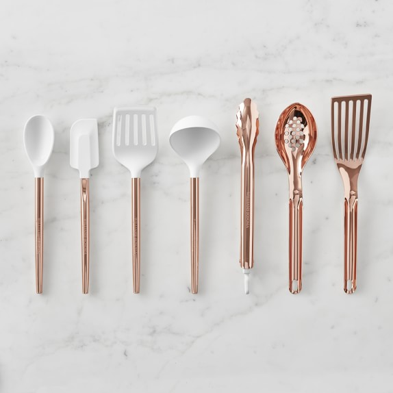 Ultimate Copper Kitchen Utensils Set Of 8 Williams Sonoma