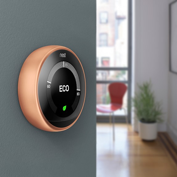 Nest Learning Thermostat | Smart Home Gadgets | Williams Sonoma