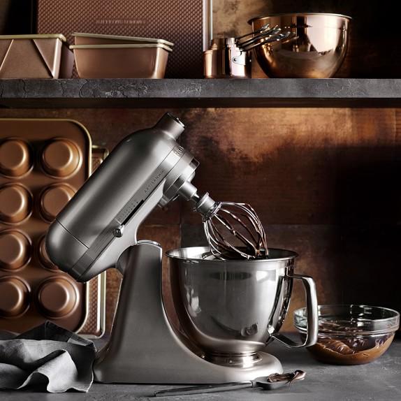 Kitchenaid Artisan Mini Stand Mixer With Flex Edge Beater 3 Qt Williams Sonoma
