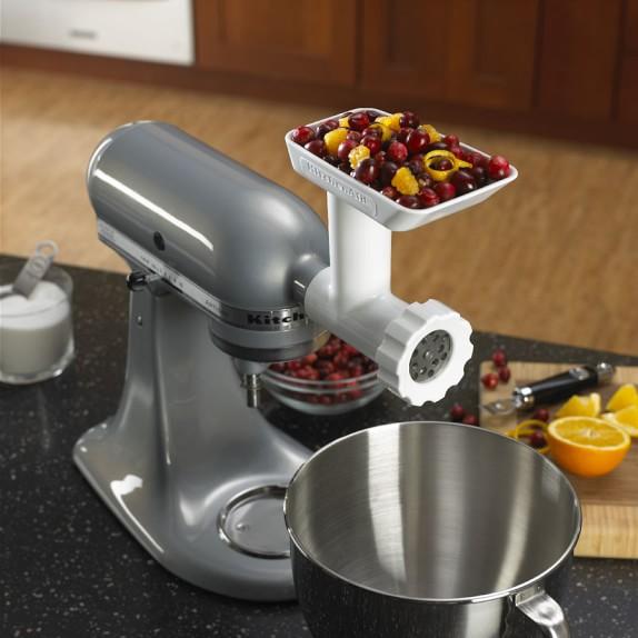 Kitchenaid Stand Mixer Attachment Food Grinder Williams Sonoma