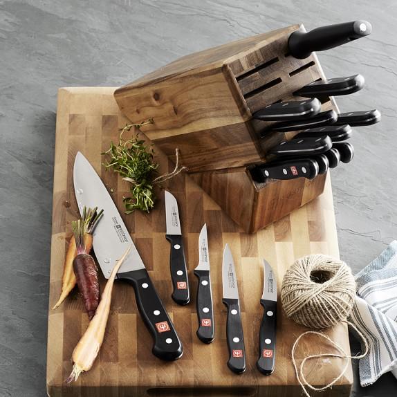 Wusthof Gourmet 18 Piece Knife Block Set Williams Sonoma