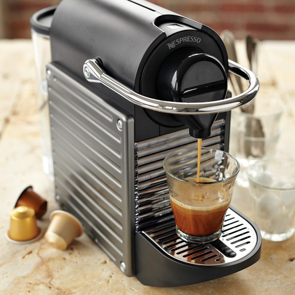 Nespresso Pixie Espresso Machine   Williams Sonoma