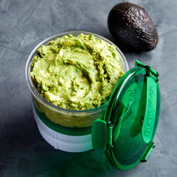 Casabella Guaclock Guacamole Storage Container Williams Sonoma