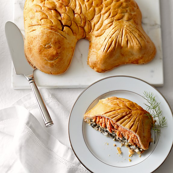Salmon Florentine En Croute Gourmet Meal Delivery Williams Sonoma