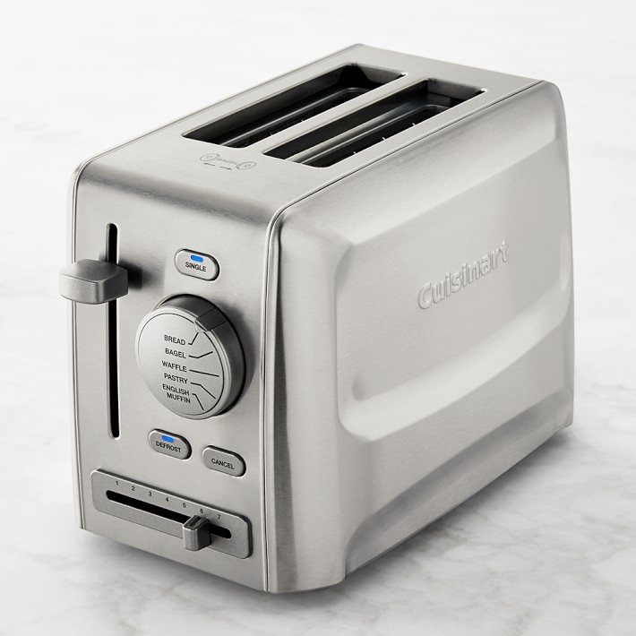 Cuisinart Custom Select 2 Slice Toaster Williams Sonoma