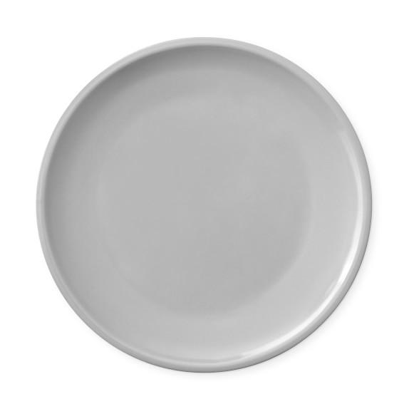 6 x White Coupe Plates Standard Porcelain Tableware Dinner Classic Steak Dessert