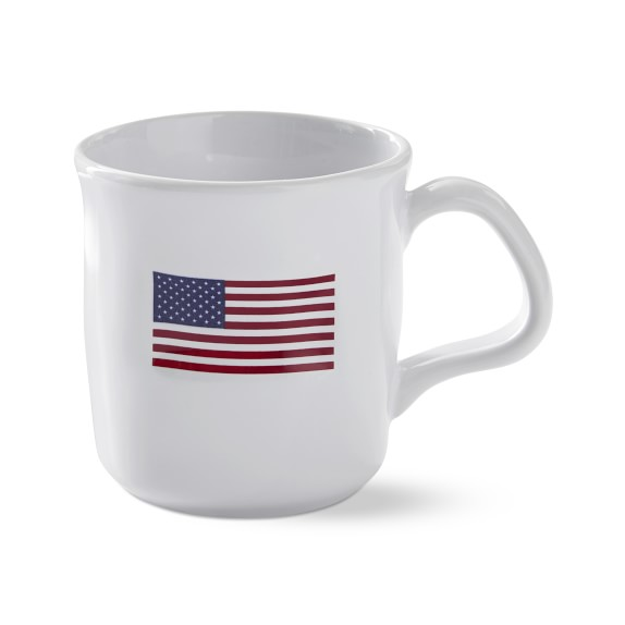 American Flag Coffee Mugs Williams Sonoma