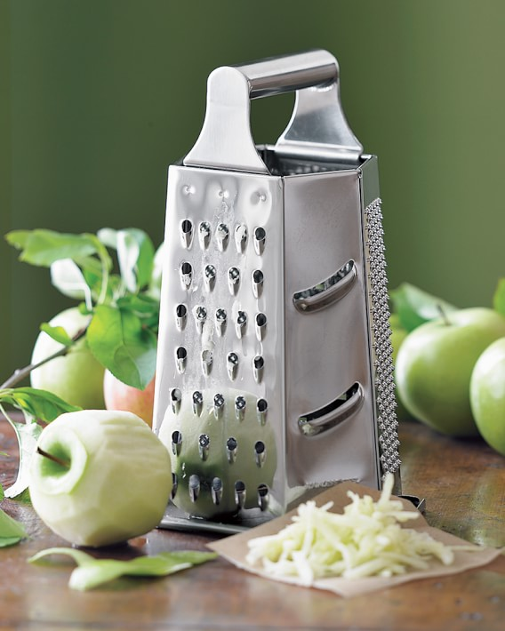 Stainless Steel Box Grater Multipurpose 4 Sided Graters Kitchen Fruits Cheeses