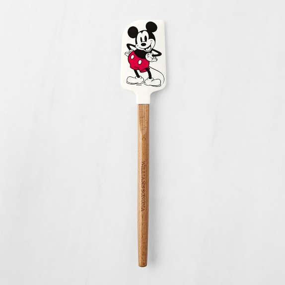 Disney Mickey Mouse Glove Measuring Spoons /& Spatula With Cookie Cutter New