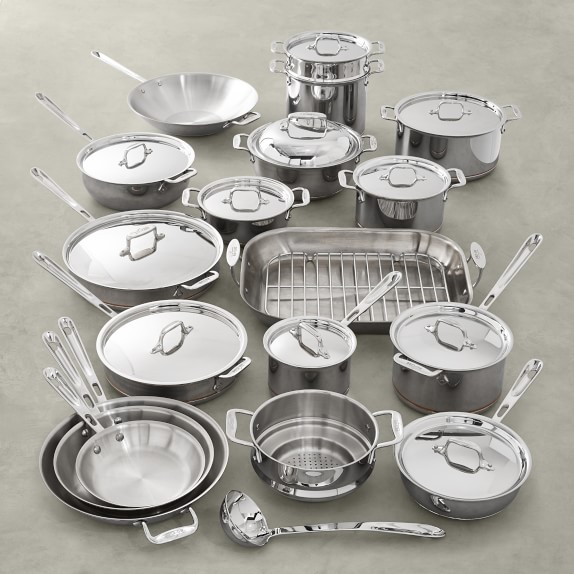 Stainless Steel Cookware Sets Pots And Pans Williams Sonoma