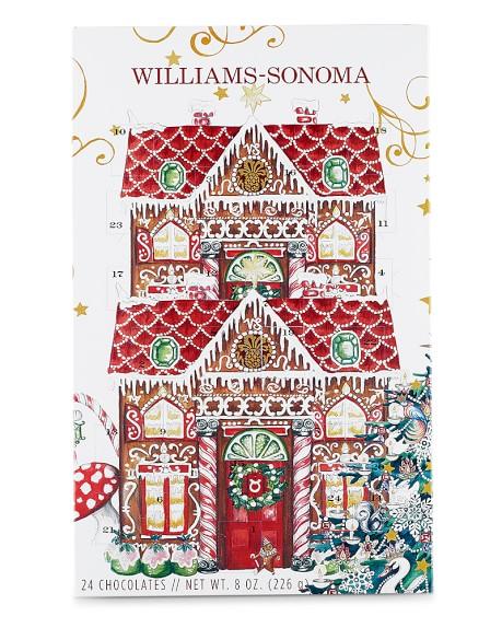 William Sonoma Christmas 2020 Williams Sonoma Chocolate Advent Calendar | Williams Sonoma