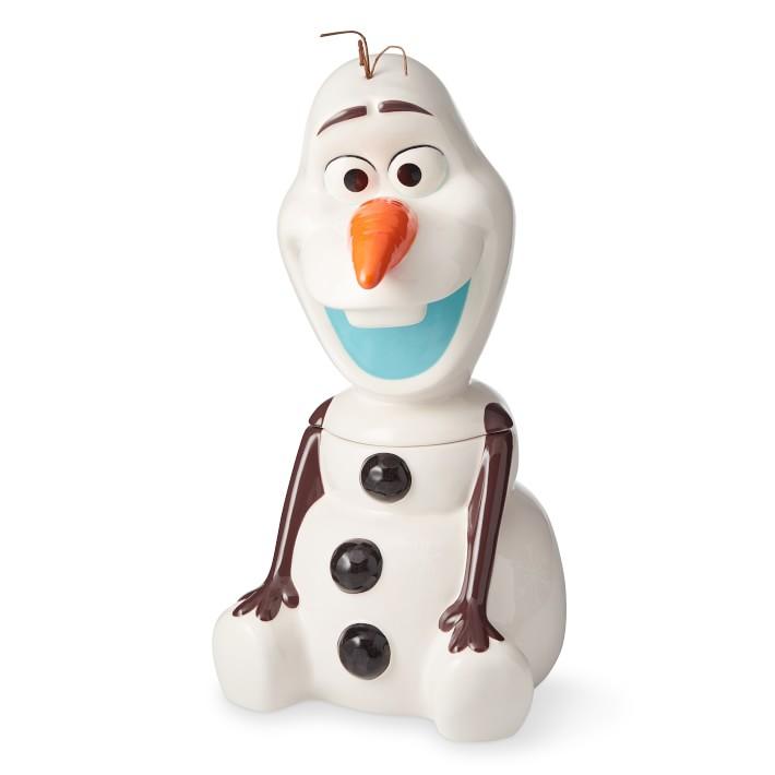 Disney Frozen 2 Olaf Cookie Jar Williams Sonoma