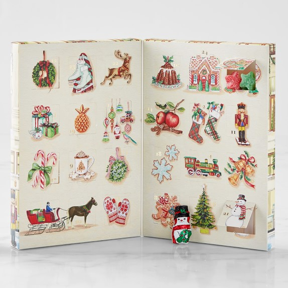 Williams Sonoma 2020 Christmas Catalog Post Street Advent Calendar | Gourmet Candy | Williams Sonoma