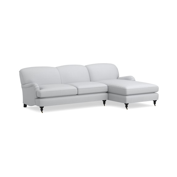 Bedford 2 Piece L Shape Sectional Sofa With Chaise Williams Sonoma
