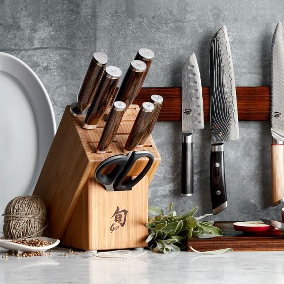 Shun Premier 9 Piece Knife Block Set Williams Sonoma