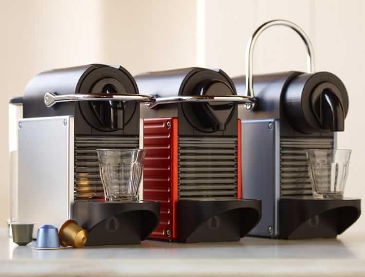 Nespresso Pixie Espresso Machine by Breville in Titan