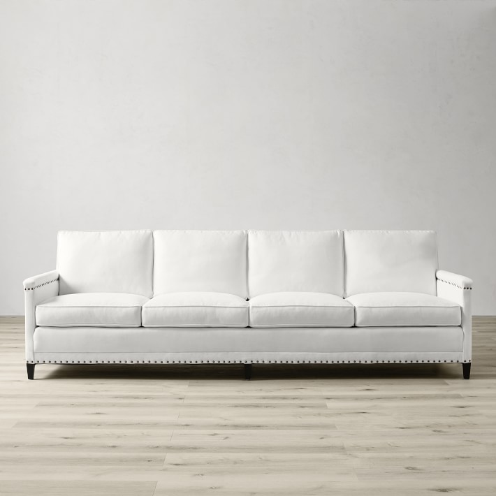 Addison Sofa With Nailheads Williams Sonoma
