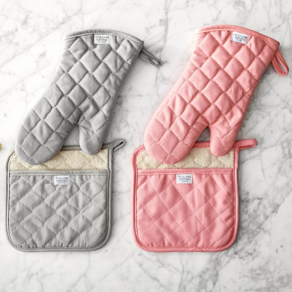 Valentines Day Holder Monogrammed Oven Mitt or Pot Holder Personalized Oven Mitts Holiday Gift Cookware Kitchen Black and White Stripe