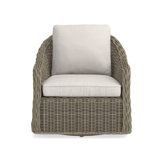 Manchester Outdoor Swivel Chair Patio Furniture Williams Sonoma