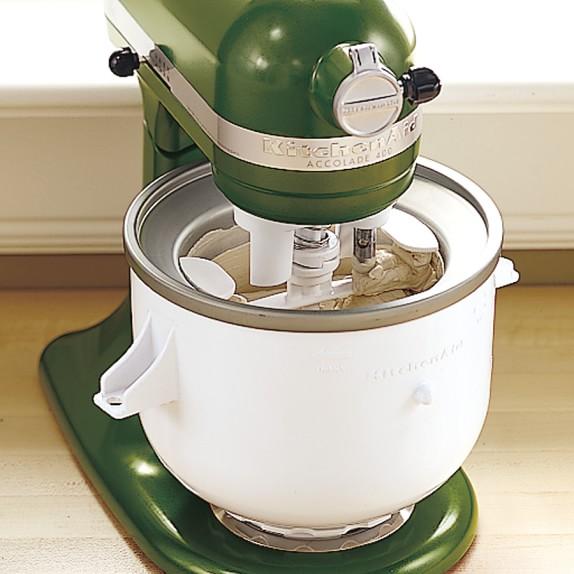 Kitchenaid Stand Mixer Ice Cream Maker Attachment Williams Sonoma