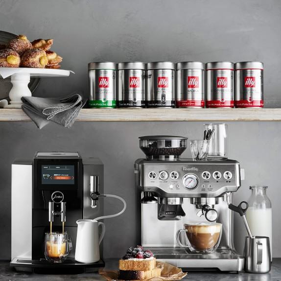 Illy Ground Espresso Classico Decaffeinated Coffee Medium Roast Williams Sonoma
