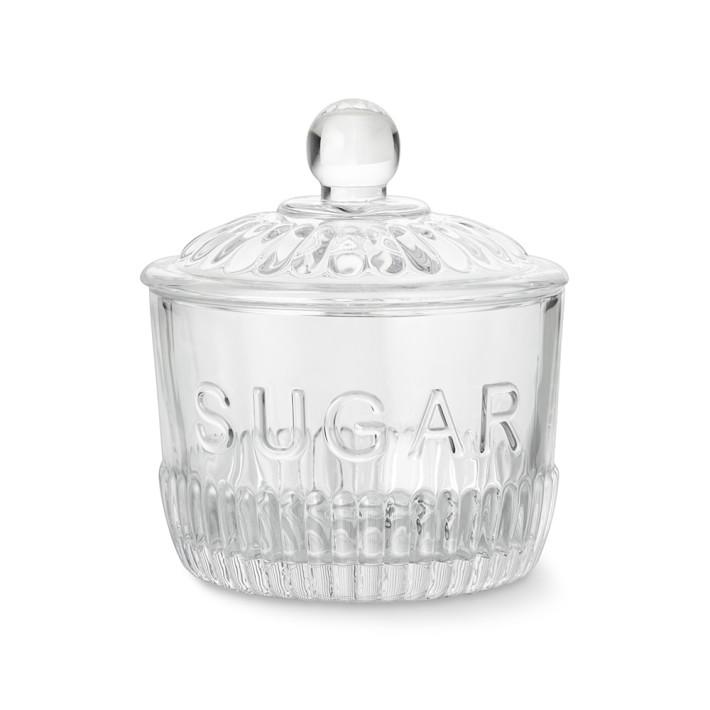 Bordeaux Glass Sugar Bowl Kitchen Counter Organizers Williams Sonoma