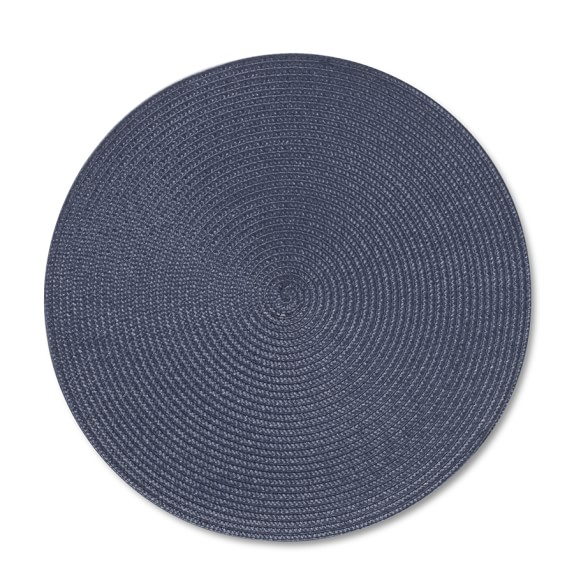 10 Inch Size Tablemats 1 x Handmade Round Cotton Rope Tablemats Free Gift Wrapping on all Orders Water Shield Protection Added.